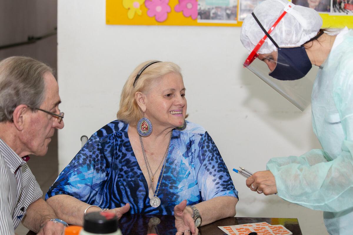 sala de juegos geriátrico