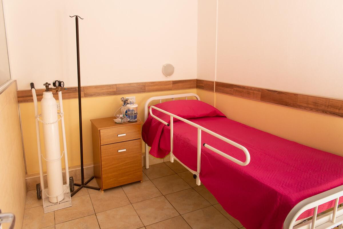 aislamiento en geriátrico