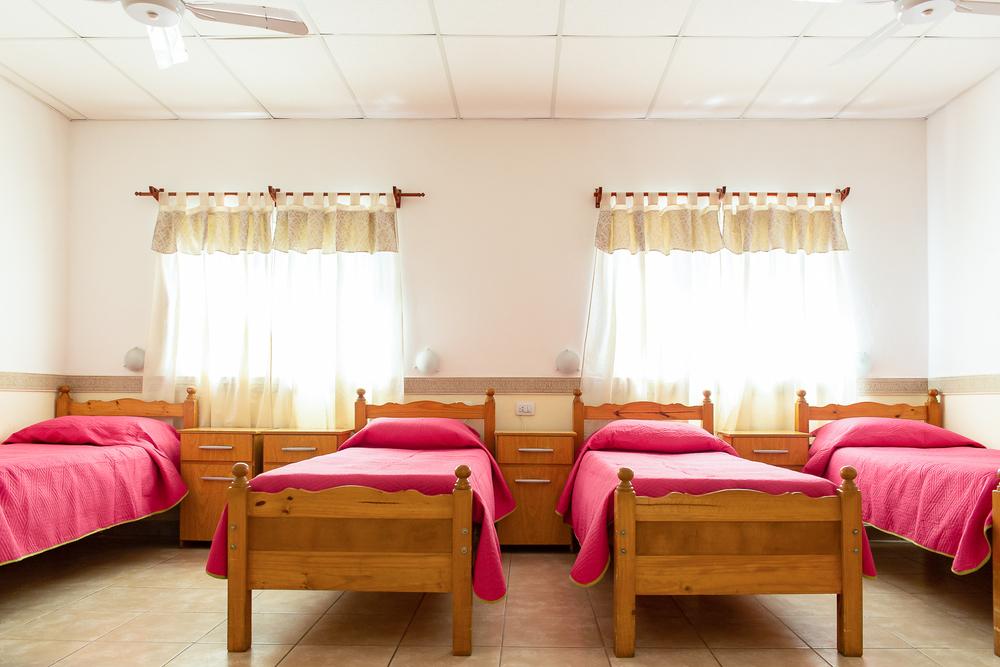 dormitorio geriátrico